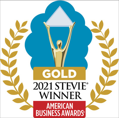 GOLD 2021 Stevie Award
