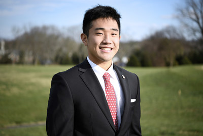 Thomas Kim earned a scholarship for learning about a problem and working toward a solution.