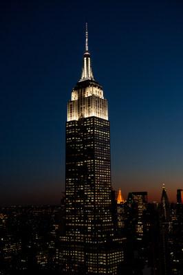Nonagésimo aniversário do Empire State Building (PRNewsfoto/Empire State Realty Trust, Inc.)
