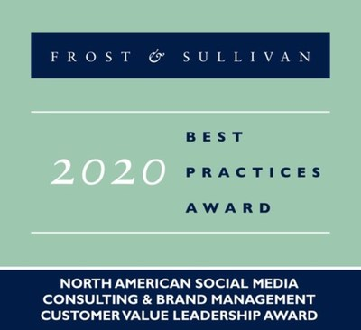 2020 North American Social Media Consulting & Brand Management Customer Value Leadership Award