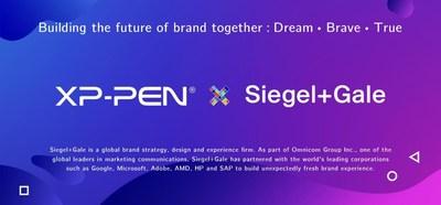Cooperação entre XP-PEN e Siegel+Gale visa construir o futuro da marca juntos (PRNewsfoto/)
