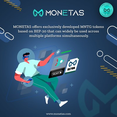 MONETAS: A new generation blockchain gaming solution with BEP-20
