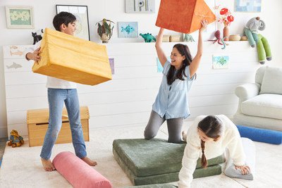 Brentwood launches eco foam couch for toddlers and children.