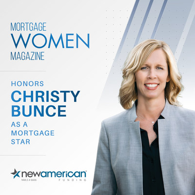 Mortgage Women Magazine Honors Christy Bunce as a Mortgage Star