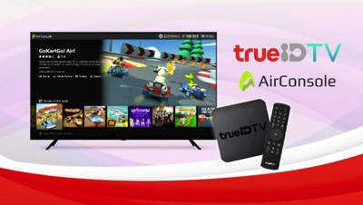 True Digital partnering with AirConsole to offer unique gaming experiences for True ID TV users