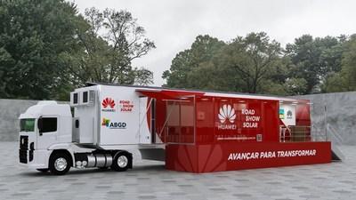 Huawei e ABGD lançam o primeiro Huawei Solar Road Show no Brasil