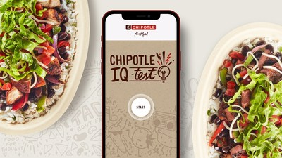 To celebrate Cinco de Mayo, Chiptole is bringing back Chipotle IQ, its signature trivia game that tests fans' expertise in Chipotle's sourcing, ingredients, recipes, and sustainability efforts. Each day this week, Chipotle will give away BOGOs to the first 50,000 fans who answer 10 Chipotle IQ questions correctly. Fans who score a perfect mark on the test but miss out on a BOGO will be entered to win one of 100 Limited Edition $500 Chipotle gift cards.