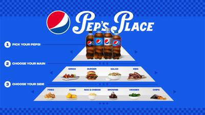 Pep's Place, Where the Cola Comes First (PRNewsfoto/PepsiCo)