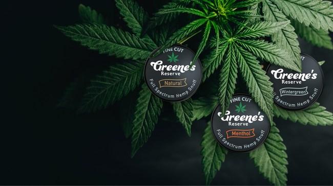 Snuff au chanvre à spectre complet Greene's Reserve