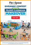 Lakeshore® Launches Dream Classroom Makeover Contest to Award $15,000 in Flex-Space Furniture