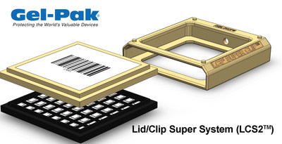Gel-Pak's New Lid/Clip Super System (LCS2™) Designed in Collaboration with BAE Systems