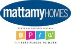 Mattamy Homes Recognized as a Best Place to Work in Tampa Bay for ...