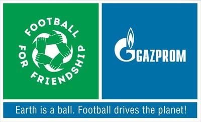 Gazprom International Children's Social Programme Football for Friendship Logo