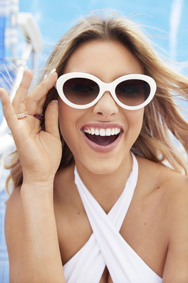 Embrace Your Light sunglasses collection in partnership with Lele Pons