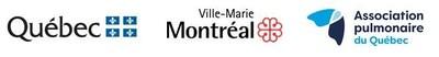Logo de Association pulmonaire du Québec, Ministère de la santé et des services sociaux et Arrondissement de Ville-Marie (Ville de Montréal) (Groupe CNW/Ville de Montréal - Arrondissement de Ville-Marie)