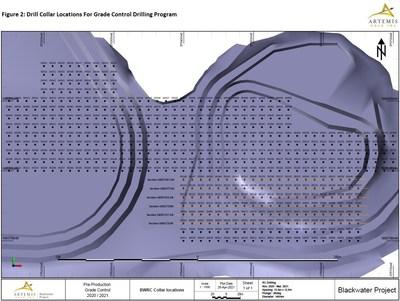 Figure 2 - GC Drill Collar Locations (CNW Group/Artemis Gold Inc.)