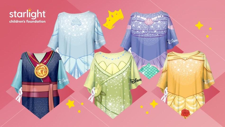 Disney Princess-themed Starlight Hospital Gowns