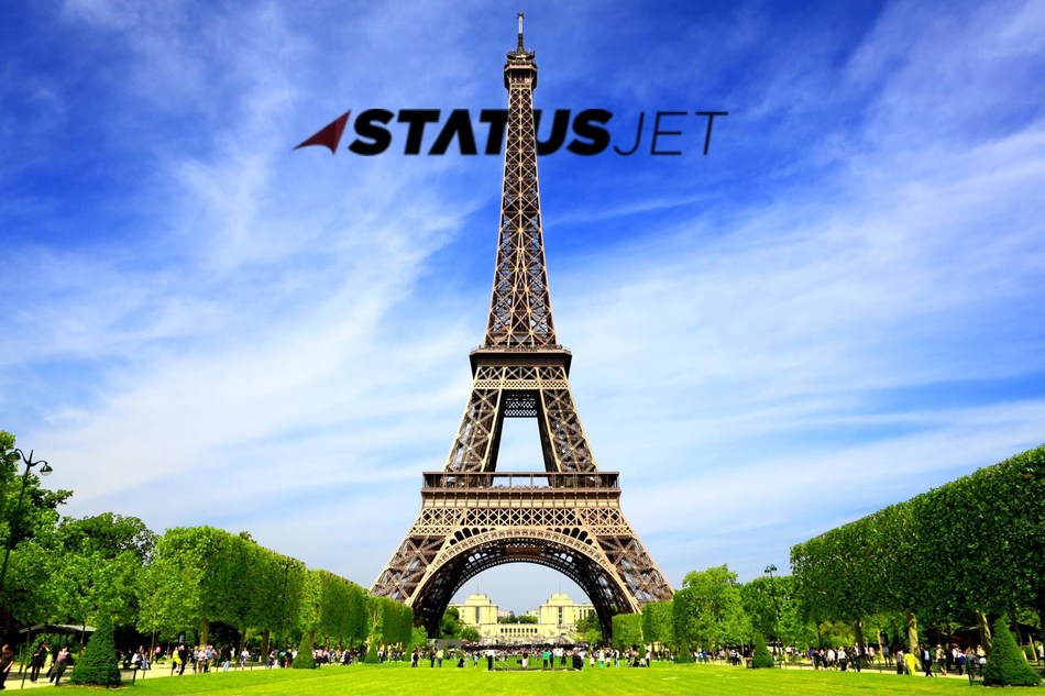 Status Jet launches new private jet charter office in Paris, France.