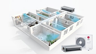 LG Ceiling Concealed Duct Air Conditioner