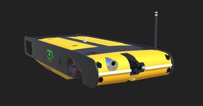 Hybrid AUV / ROV