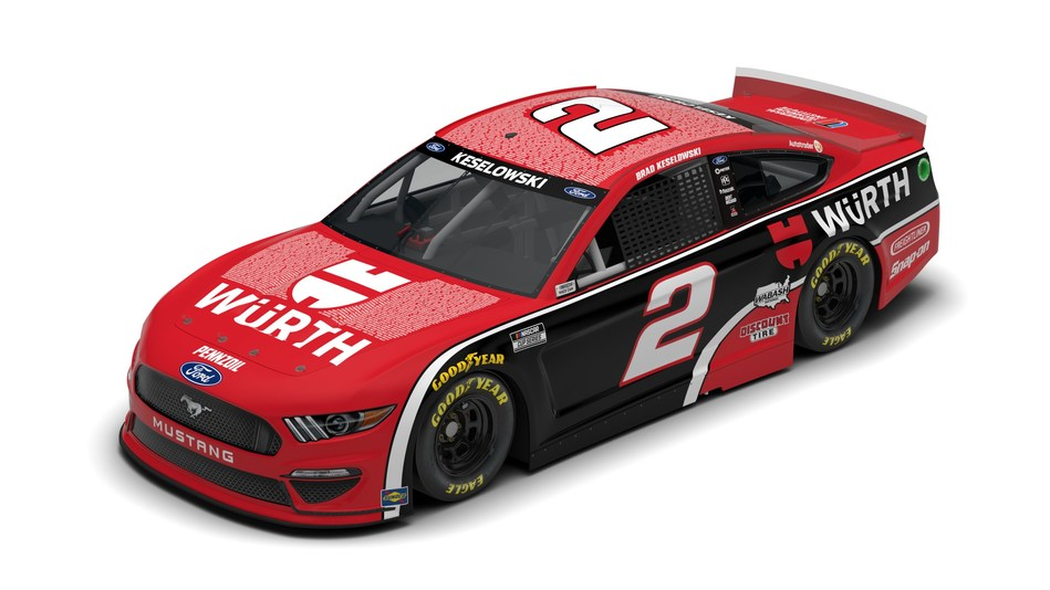 Team Penske, Brad Keselowski, Würth and Universal Technical Institute (UTI) team up to honor teachers for National Teacher Appreciation Week. For the NASCAR Cup Series race at Dover International Speedway on May 16, the hood and roof of Keselowski's car will carry the names of 480 instructors from UTI's 12 campuses, alongside the names of 39 Würth Trainers.