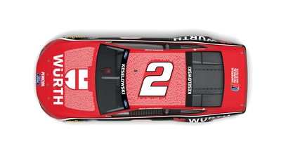 480 Universal Technical Institute instructors and 39 W?rth trainers will be featured in one-of-a-kind paint scheme at Dover International Speedway's NASCAR Cup Series race on May 16, 2021.