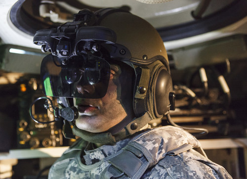 Elbit Systems of America's IronVision will provide the 360° Situational Awareness vision suite for the Cottonmouth prototype ARV