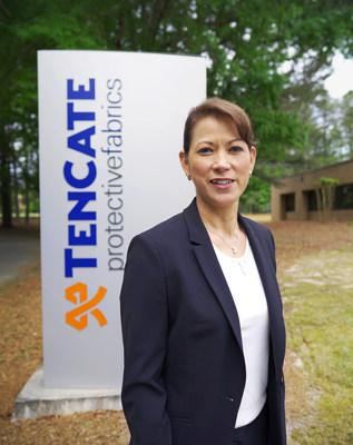 A CEO da TenCate Protective Fabrics, Maria Gallahue-Worl (PRNewsfoto/TenCate Protective Fabrics)