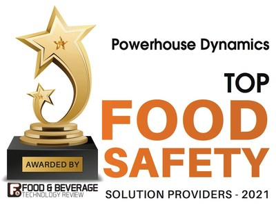 Powerhouse Dynamics: Top Food Safety Solution Providers 2021
