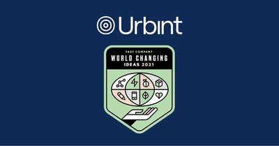 Urbint was named to Fast Company's 2021 list of World Changing Ideas