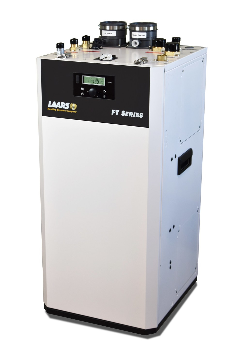 The new Laars® floor-standing FT Series Combination Boiler and Water Heater is the only residential combi boiler that simultaneously supplies abundant home heat and endless hot water without interruption.