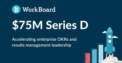 WorkBoard recueille 75 millions de dollars en financement de série D (PRNewsfoto/WorkBoard)