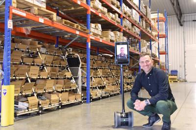 Julien Depelteau, Holo Robots founder. (CNW Group/Holo Robots)
