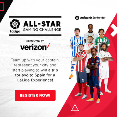 LALIGA AND VERIZON CREATE FIRST-OF-ITS-KIND GAMING PLATFORM; Amateur FIFA Gaming Program Aims to Build Community of LaLiga Fans Across the US