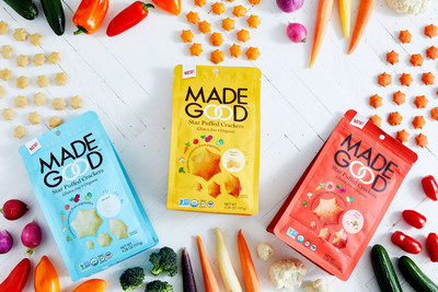 MadeGood Star Puffed Crackers