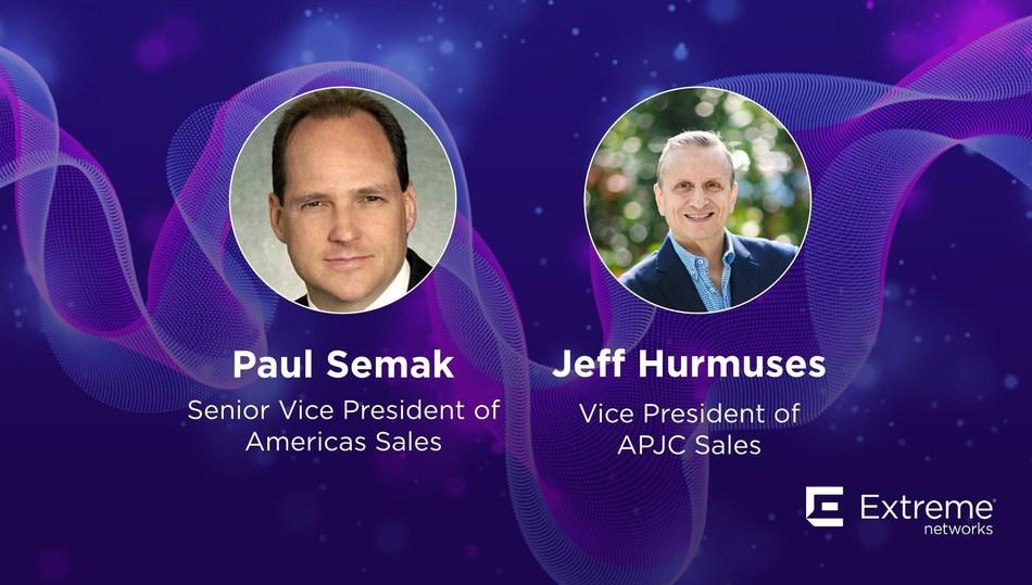 Paul Semak, Senior Vice President of Americas Sales, and Jeff Hurmuses, Vice President of APJC Sales