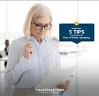 Toastmasters' 5 Tips to Overcome the Fear of Public Speaking...