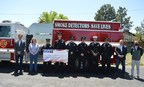 Panhandle Northern Railroad Company Honors Shipping Safety with Community Donation to Borger Fire Department