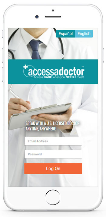 Access a Doctor - Powered by MyTelemedicine