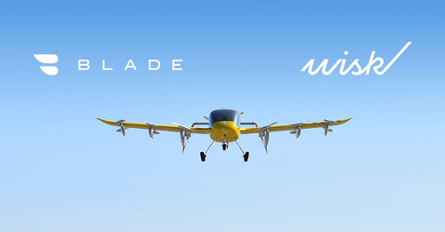 Wisk to Provide and Operate up to 30 Electric Vertical Takeoff and Landing Aircraft (eVTOL) for Key Blade Urban Air Mobility Routes