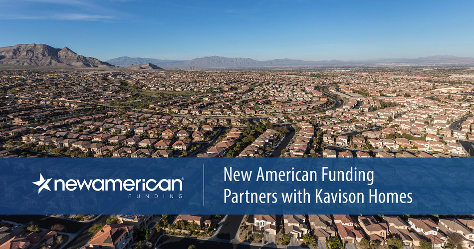 New American Funding Partners with Kavion Homes