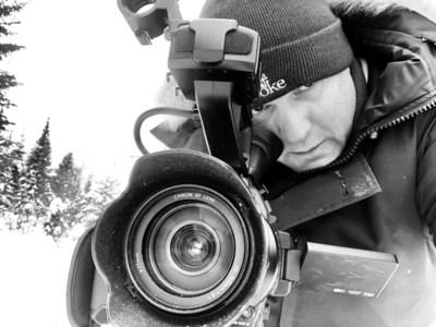 Premier cinéaste en résidence de Canadian Geographic : Matt LeMay. (Groupe CNW/Société géographique royale du Canada)