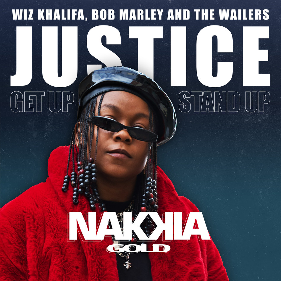 """Saban Music Group Declares """"Justice"""" A New Message Of Hope And Equality By Up And Comer Nakkia Gold Ft. Wiz Khalifa, Bob Marley And The Wailers (PRNewsfoto/Saban Music Group LLC)"""