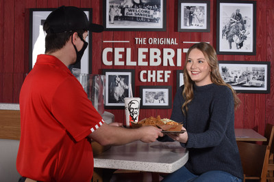 KFC re-launched a new careers page, jobs.kfc.com, and is working to hire up to 20,000 full- and part-time positions in its restaurants across the country.