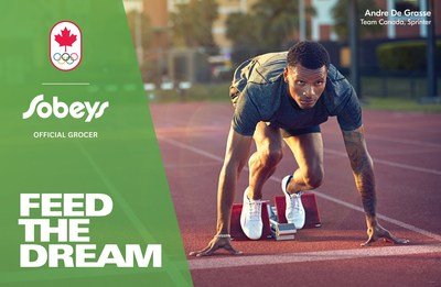 Sobeys Inc. Feed The Dream - Andre De Grasse (CNW Group/Sobeys Capital Incorporated)