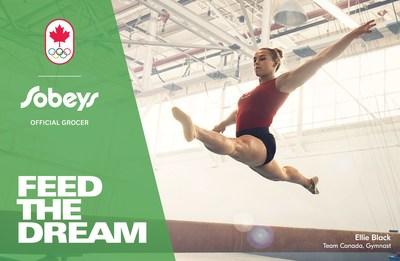 Sobeys Inc. Feed The Dream - Ellie Black (CNW Group/Sobeys Capital Incorporated)