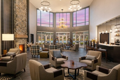 Saranac Waterfront Lodge opened May 1, 2021 in Saranac Lake, New York with direct access to Lake Flower.