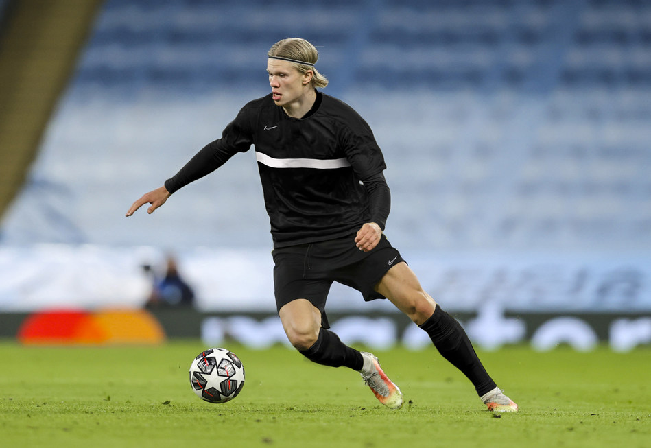 Erling Haaland Joins Hyperice as Athlete-investor and Global Face of Football (PRNewsfoto/Hyperice)