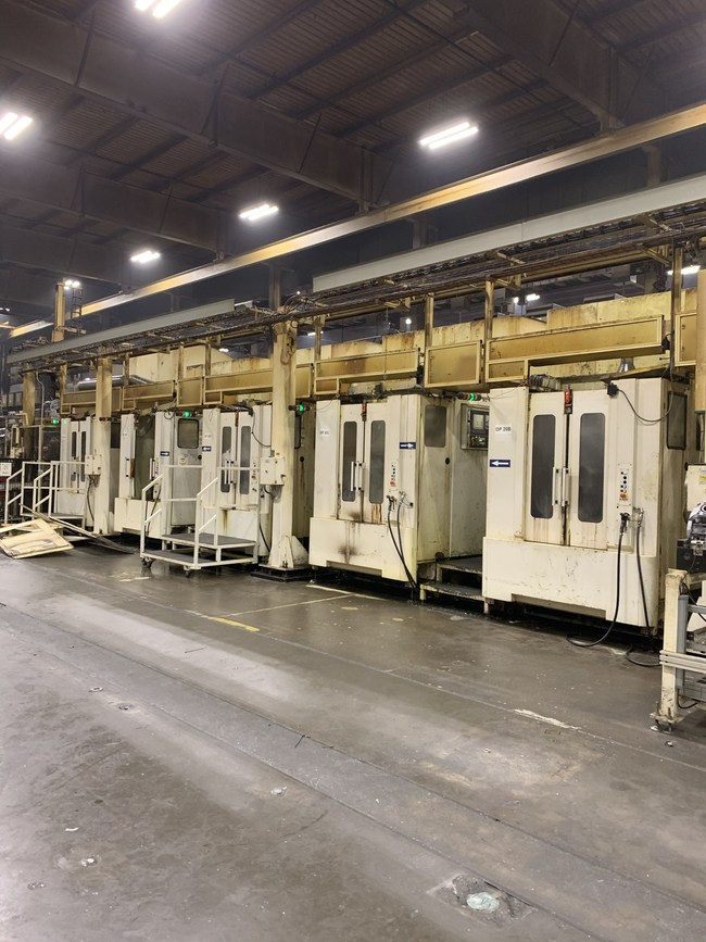 This five-axis, 2009 Heller MC 10 is among the machining centers available in Tiger's May 20 online auction of assets from Eagle Manufacturing's former plant in Florence, Ky.