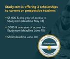 Study.com Awarding Teacher Certification Exam Scholarships...